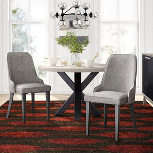 Los Santos Upholstered Dining Chair (Set of 2) Langley Street