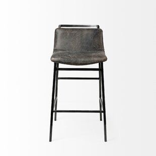 Brimmer Bar  Counter Stool by 17 Stories