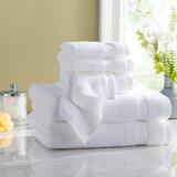 Quick Dry 6 Piece 100% Cotton Towel Set