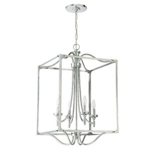 Find for Beauchamp 4-Light Square/Rectangle Chandelier By Alcott Hill