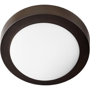 Quorum Single Light Flush Mount