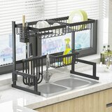 Over Sink Stainless Steel Dish Rack