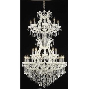 House of Hampton Regina 34-Light Candle Style Chandelier