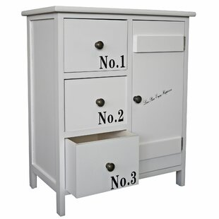Decker 3 Drawer Combi Chest By Brambly Cottage