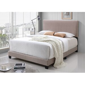 Geiger Upholstered Panel Bed by Ebern ..