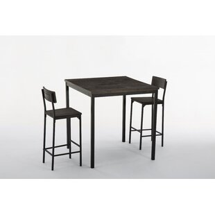 Bushman 3 Piece Pub Table Set Best Design