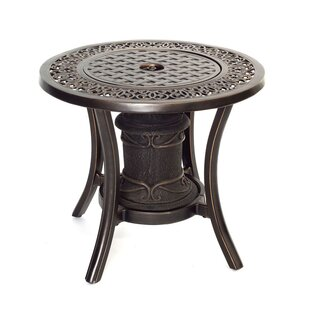 Hanover Aluminum Propane Fire Pit Table