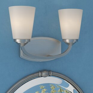Top Reviews Pittman 2-Light Vanity Light By Andover Mills
