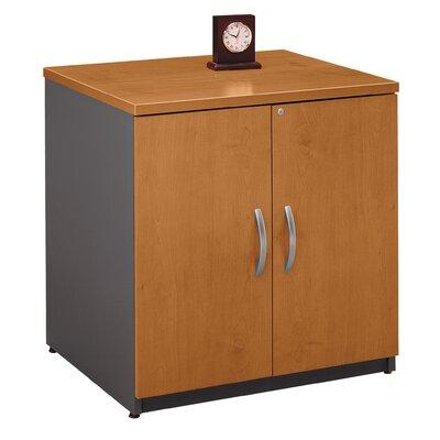 Series C 2 Door Storage Cabinet Bush Business Furniture Finish: Natural Cherry