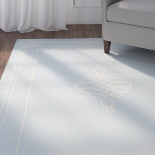 Octavius Soft Blue/Cream Indoor/Outdoor Rug