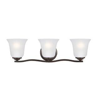 Bargain Elsa 3-Light Vanity Light By Charlton Home