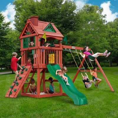 Nantucket Swing Set - Backyard Discovery Tanglewood All Cedar Swing Set & Reviews Wayfair