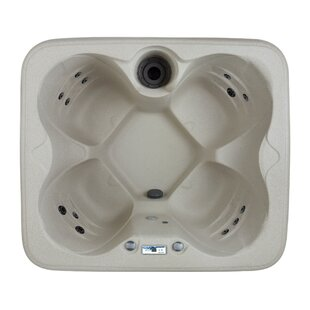 Lifesmart Spas Rock Solid Simplicity 4-Person 13-Jet Plug and Play Spa