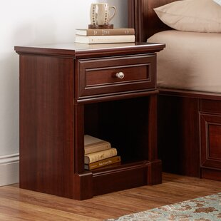 Walworth 1 Drawer Nightstand Three Posts