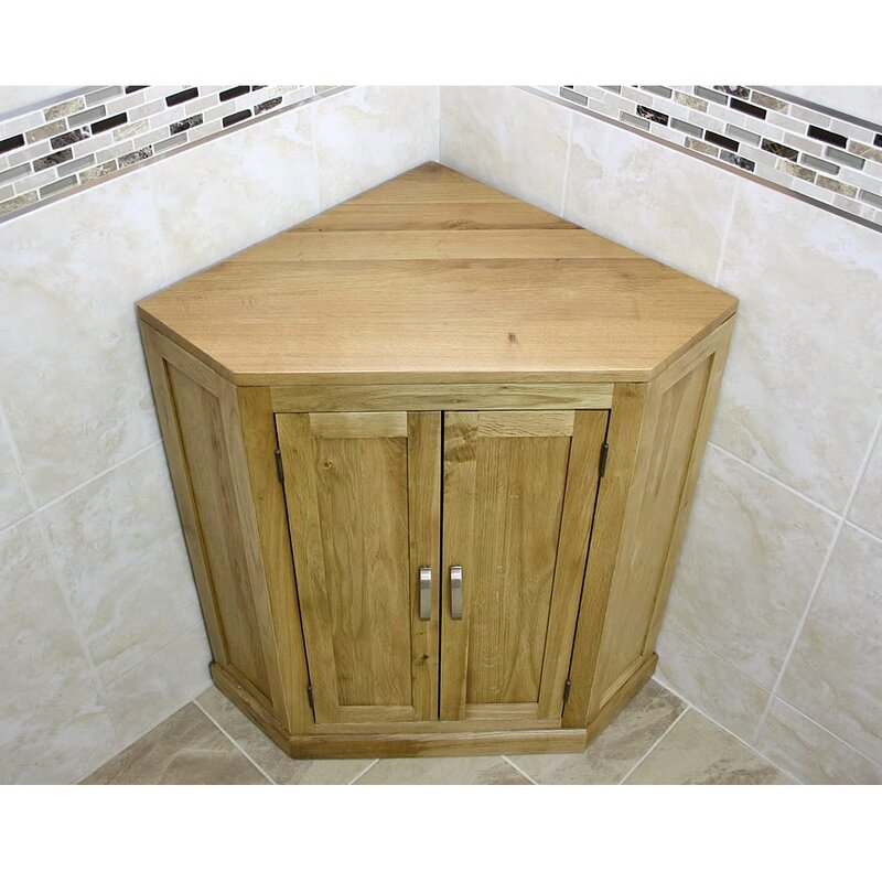 Union Rustic Shyanne 55cm X 80cm Corner Free Standing Cabinet Wayfair Co Uk