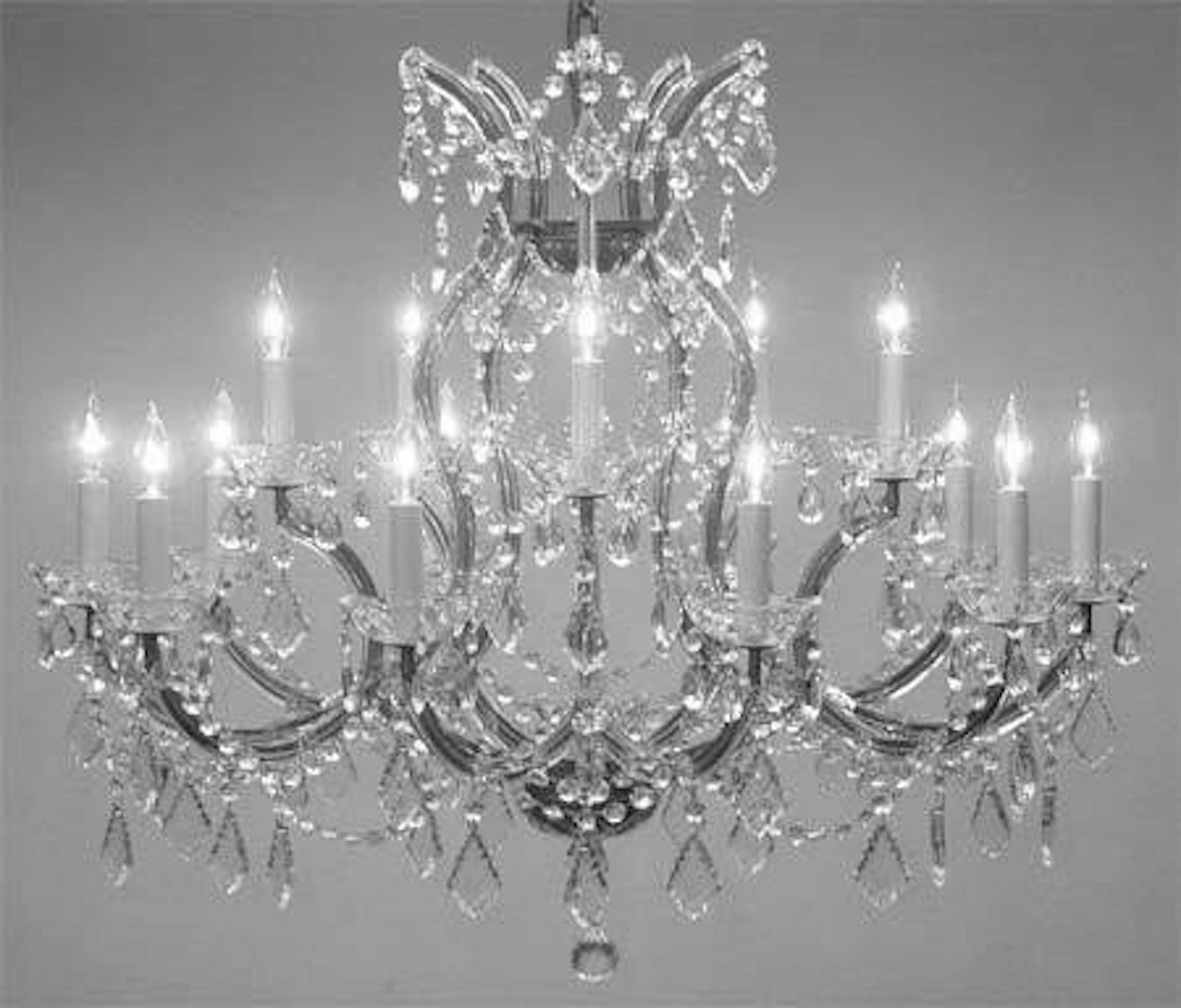 Astoria Grand Alvarado 16 Light Candle Style Classic Traditional Chandelier With Crystal Accents Accents Wayfair Ca