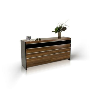 Cobos Wooden 8 Drawer Double Dresser by Orren Ellis