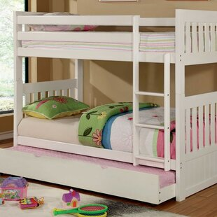 Fortuna Twin over Twin Bunk Bed by Harriet Bee