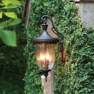 Astoria Grand Diaw 3-Light Outdoor Wall Lantern
