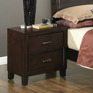 Three Posts Hoytville 2 Drawer Nightstand