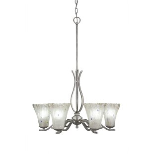 Red Barrel Studio Hiroko 6-Light Shaded Chandelier