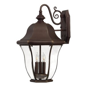 Best Monticello 3 Light Outdoor Wall Lantern By Hinkley Lighting