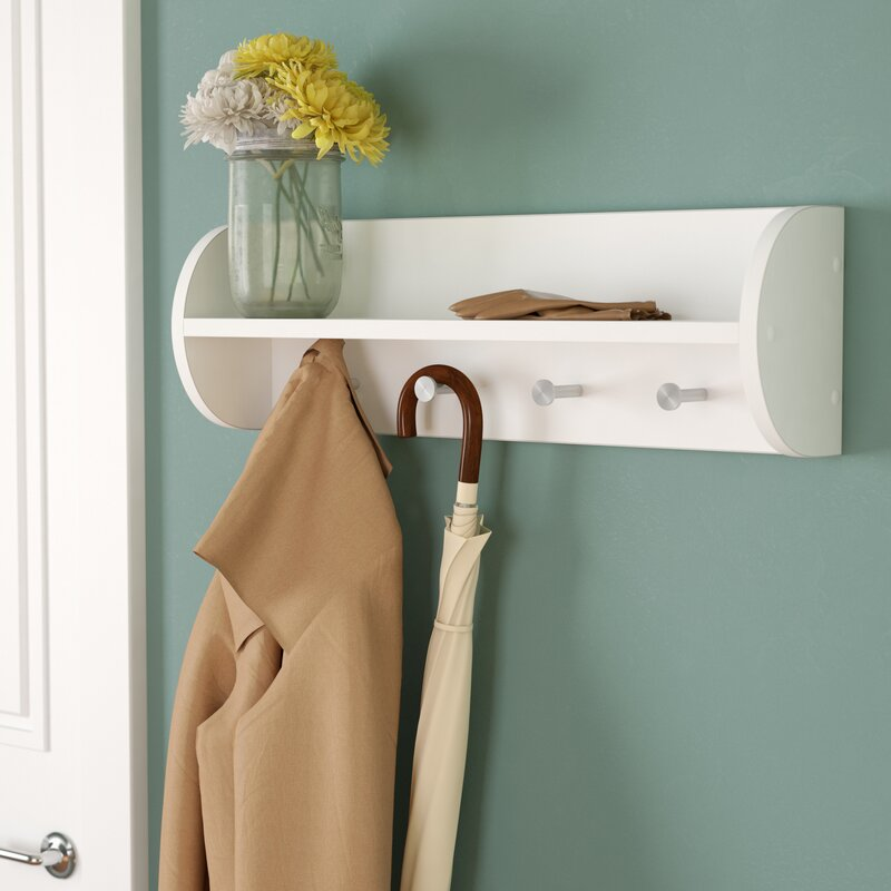 Charlton Home Traditional Wall Mounted Coat Rack Reviews Wayfair Adorable Traditional Coat Rack