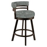 Caria Swivel Bar & Counter Stool by Latitude Run
