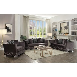 Everly Quinn Stanford Configurable Sofa Set