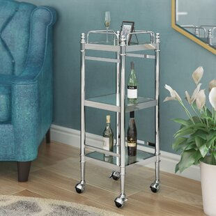 Willa Arlo Interiors Westra Chrome Bar Cart