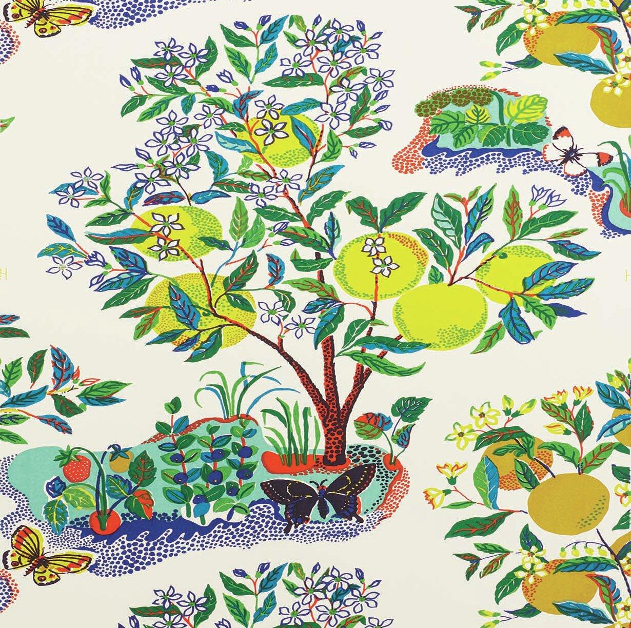 Citrus Garden Wallpaper