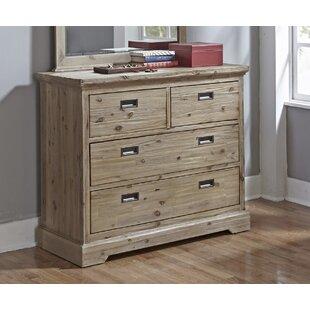 Bryon 4 Drawer Dresser by Viv   Rae