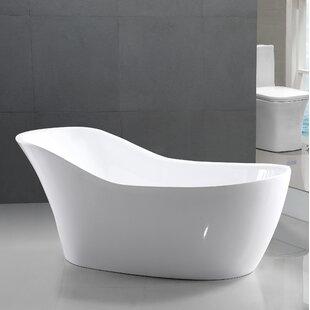 Great Price 67 x 30 Freestanding Soaking Bathtub ByStreamline Bath