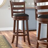 Terranova Swivel Bar & Counter Stool by Charlton Home®