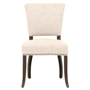 Lela Upholstered Dining Chair (Set of 2) Canora Grey