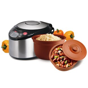 3.2-Quart Smart Organic Multicooker by Vitaclay New Design