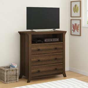 Plumville 3 Drawer Media Chest by Darby Home Co