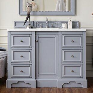 Reviews Kewstoke 49 Single Bathroom Vanity Set ByAlcott Hill