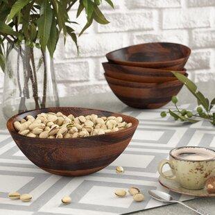 Danna Wavy Rim Salad Bowl (Set of 4)