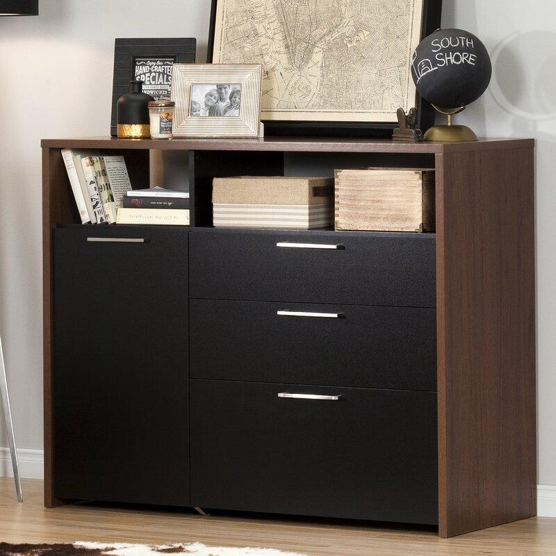 South Shore Tasko 1 Door Storage Cabinet & Reviews | Wayfair