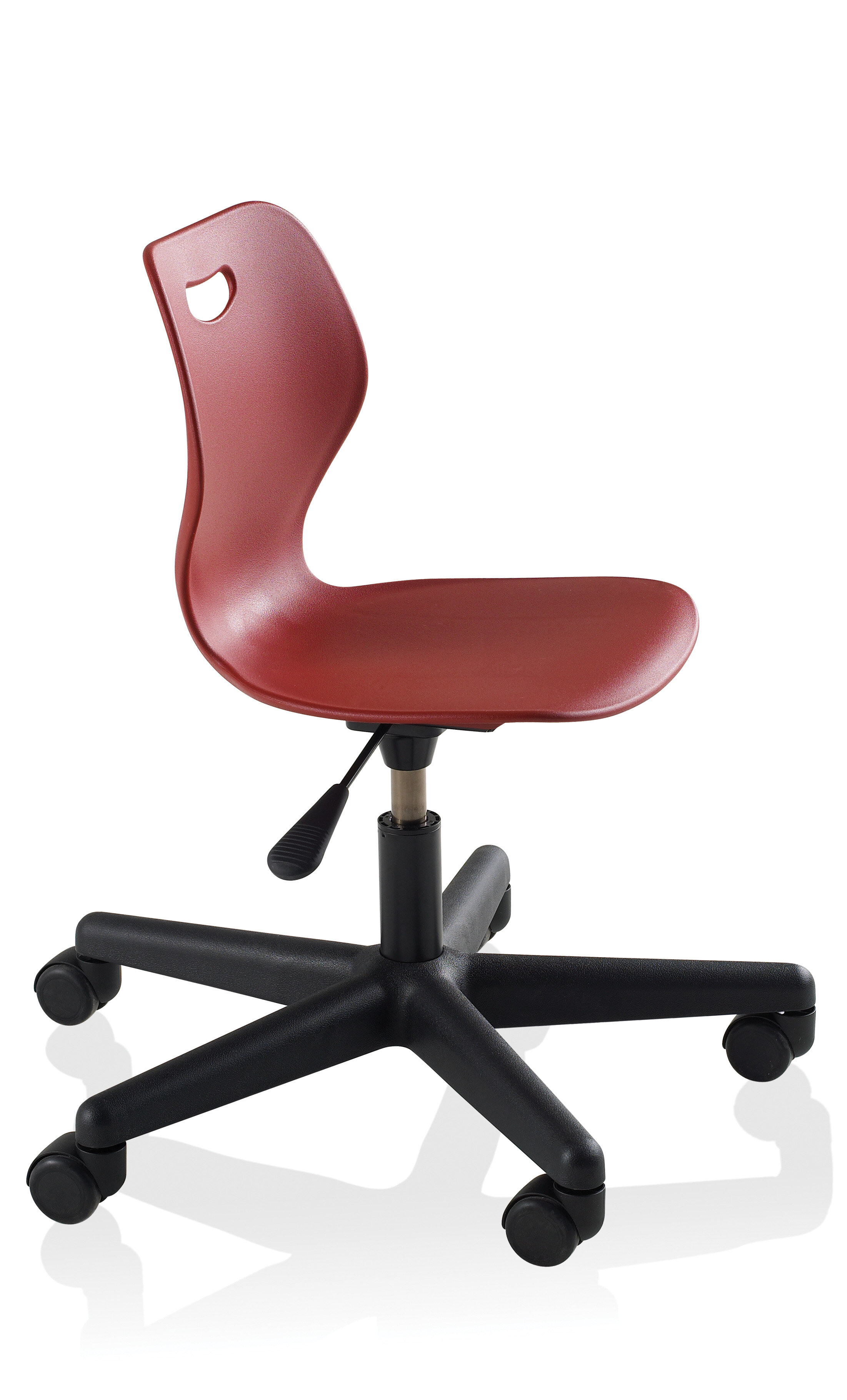 Ki Furniture Intellect Wave Five Leg Classroom Chair With Casters Wayfair