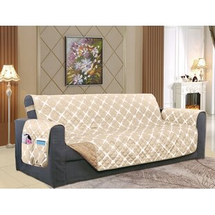 Reversible Furniture Protector Box Cushion Sofa Slipcover