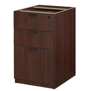 Linh Box File Pedestal 3-Drawer Lateral Filing Cabinet
