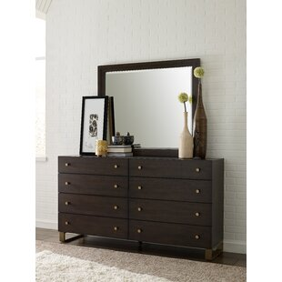 Austin 8 Drawer Dresser With Mirror by Rachael Ray Home Cheap