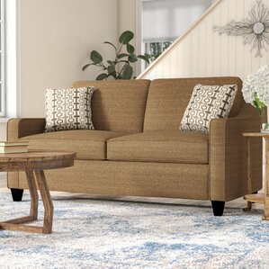 Simmons Upholstery Destin Solid Hide-A-Bed Sleeper Sofa by World Menagerie