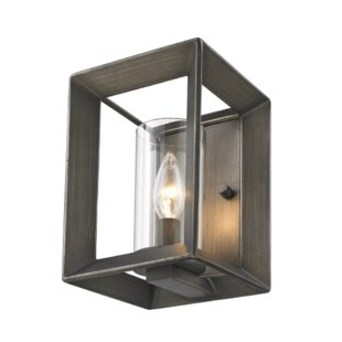 Reviews Thorne 1-Light Candle Wall Light By Three Posts