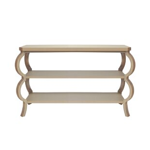 Worlds Away 3 Tier Console Table