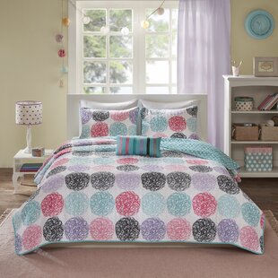 Krupp Reversible Coverlet Set
