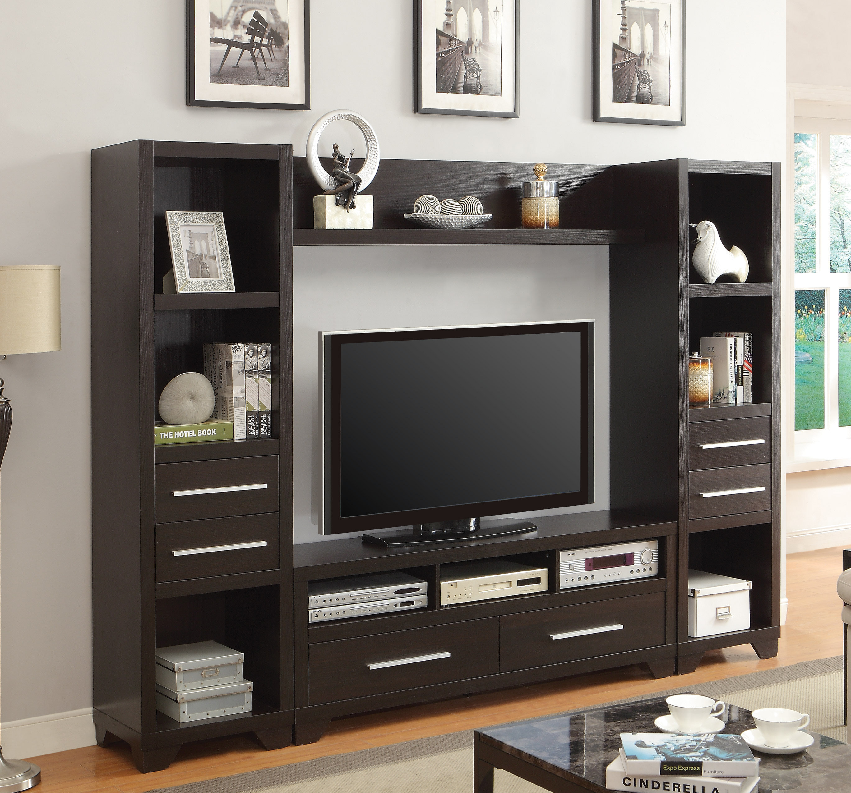 for to living enlarge set room rustic entertainment brown porter furniture ashley center the click product
