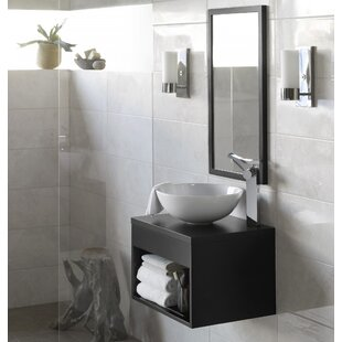 Review Catalina 22 Single Bathroom Vanity Set with Mirror by Ronbow